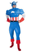 Avengers Captain America Teen Adult Costume