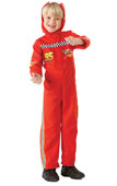 Cars Lightning McQueen Racing Driver Kids Costume