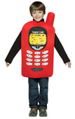 Cell Phone Kids Costume