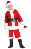 Father Christmas Santa Clause Kids Costume