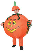 Inflatable Pumpkin Halloween Kids Costume