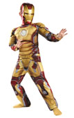 Avengers Iron Man Kids Costume