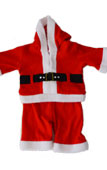 Little Santa Claus Father Christmas Kids Costume