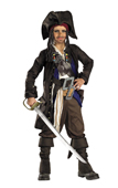 Jack Sparrow Pirates of the Caribbean Kids Costume
