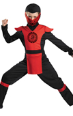 Ninja Warrior Kids Costume