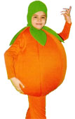 Orange Fruit Kids Costume