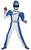Power Rangers Blue Kids Costume